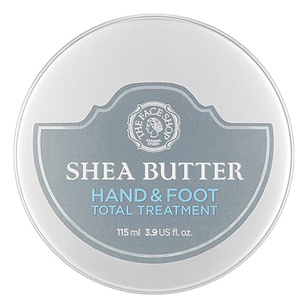 Kem Dưỡng Da Tay Chân The Face Shop Shea Butter Hand  Foot Total Treatment 30500167 (115ml) - 891460 , 2688834411551 , 62_1581297 , 399000 , Kem-Duong-Da-Tay-Chan-The-Face-Shop-Shea-Butter-Hand-Foot-Total-Treatment-30500167-115ml-62_1581297 , tiki.vn , Kem Dưỡng Da Tay Chân The Face Shop Shea Butter Hand  Foot Total Treatment 30500167 (115ml)