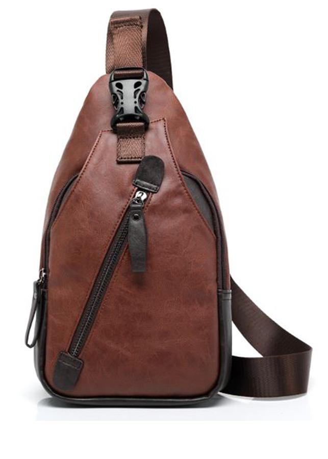 Túi da đeo chéo cao cấp nam , chất da chống nước chống xước và đựng nhiều đồ
