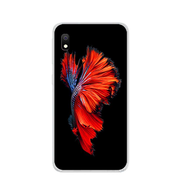 Ốp lưng dẻo cho điện thoại Samsung Galaxy A10 - 0303 FISH03 - Hàng Chính Hãng