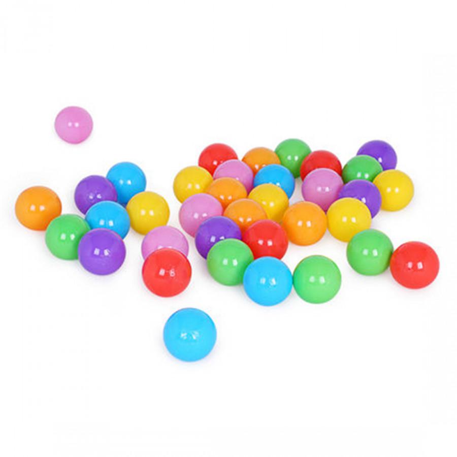 Color Thicken Ocean Ball Colorful Bobo Toy Ball Green Sea 100 Pcs