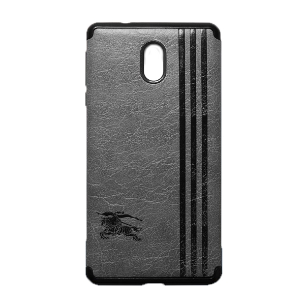 Ốp Lưng Da Kẻ Sọc Dành Cho Điện Thoại Nokia 3