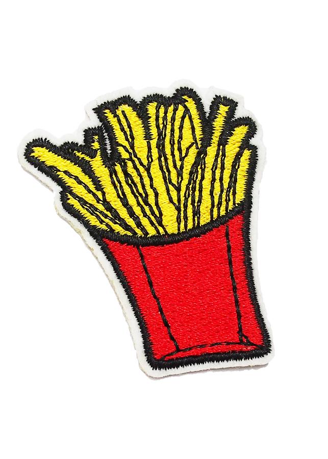 Patch ủi sticker vải - Khoai tây chiên French Fried