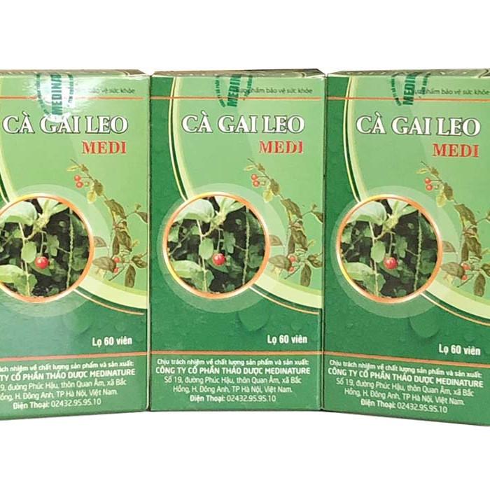 Combo 3 Hộp Cà Gai Leo Medi – Thảo dược hỗ trợ chữa các bệnh về gan, Giải Độc Gan, Tăng Cường Chức Năng Gan - 7273276 , 6472372623080 , 62_14788886 , 375000 , Combo-3-Hop-Ca-Gai-Leo-Medi-Thao-duoc-ho-tro-chua-cac-benh-ve-gan-Giai-Doc-Gan-Tang-Cuong-Chuc-Nang-Gan-62_14788886 , tiki.vn , Combo 3 Hộp Cà Gai Leo Medi – Thảo dược hỗ trợ chữa các bệnh về gan, Giải