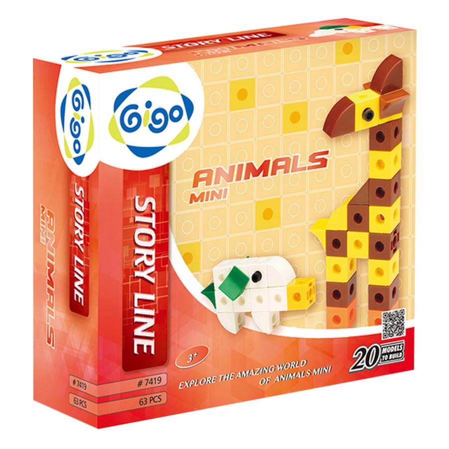 Đồ Chơi Sáng Tạo Động Vật Tí Hon - Animals Mini Gigo Toys (Giao Mẫu Ngẫu Nhiên) - 883727 , 2125259104038 , 62_1458859 , 390000 , Do-Choi-Sang-Tao-Dong-Vat-Ti-Hon-Animals-Mini-Gigo-Toys-Giao-Mau-Ngau-Nhien-62_1458859 , tiki.vn , Đồ Chơi Sáng Tạo Động Vật Tí Hon - Animals Mini Gigo Toys (Giao Mẫu Ngẫu Nhiên)