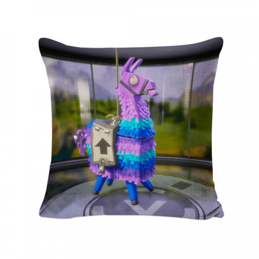 Fortnite Game Animation Peripheral Soft Square Pillowcase Car and Sofa Comfortable Pillowslip - (Size 3#)