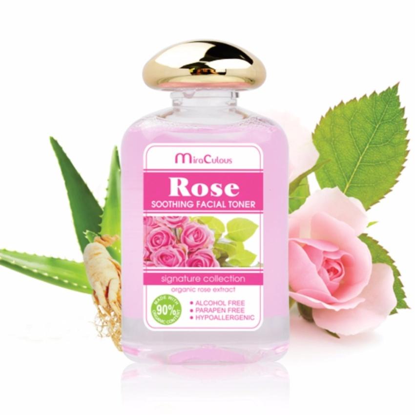 Nước hoa hồng se khít lỗ chân lông trắng da Hàn Quốc Mira Culous Rose Soothing Facial (150ml) - 911214 , 9951921474894 , 62_1723863 , 210000 , Nuoc-hoa-hong-se-khit-lo-chan-long-trang-da-Han-Quoc-Mira-Culous-Rose-Soothing-Facial-150ml-62_1723863 , tiki.vn , Nước hoa hồng se khít lỗ chân lông trắng da Hàn Quốc Mira Culous Rose Soothing Facial (150ml)