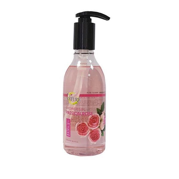 Sữa tắm thiên nhiên MEE NATURE Passion Rose 500ml