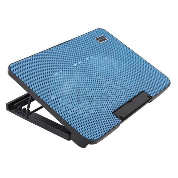 Quạt tản nhiệt Laptop  N99  thích hợp laptop 17 in màu xanh