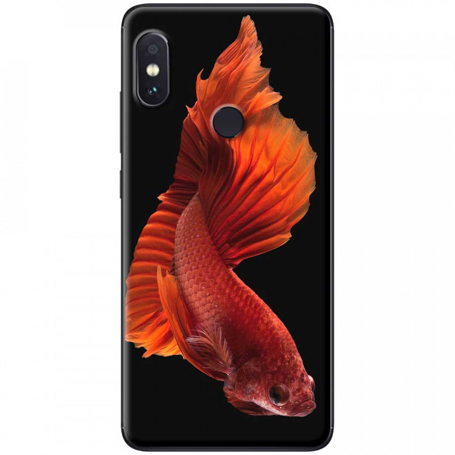 Ốp lưng dành cho Xiaomi Redmi Note 6 mẫu Cá đỏ