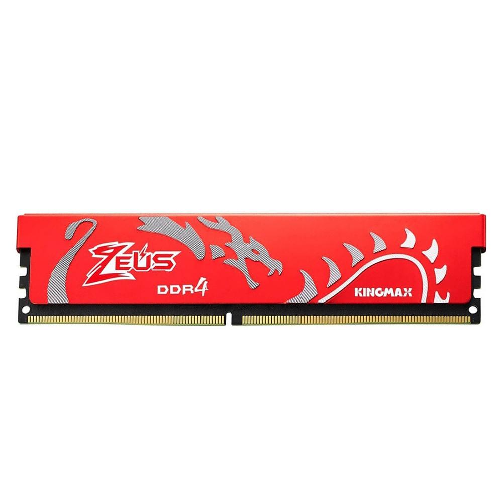 Bộ nhớ DDR4 Kingmax 16GB (2666) ZEUS Dragon Heatsink (Đỏ) - Hàng chính hãng - 18650777 , 2391107352894 , 62_23404687 , 2690000 , Bo-nho-DDR4-Kingmax-16GB-2666-ZEUS-Dragon-Heatsink-Do-Hang-chinh-hang-62_23404687 , tiki.vn , Bộ nhớ DDR4 Kingmax 16GB (2666) ZEUS Dragon Heatsink (Đỏ) - Hàng chính hãng