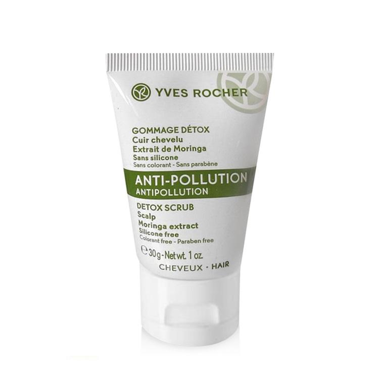 Tẩy Tế Bào Chết Cho Da Đầu Yves Rocher Anti-Pollution Antipollution Detox Scrub Scalp 30g