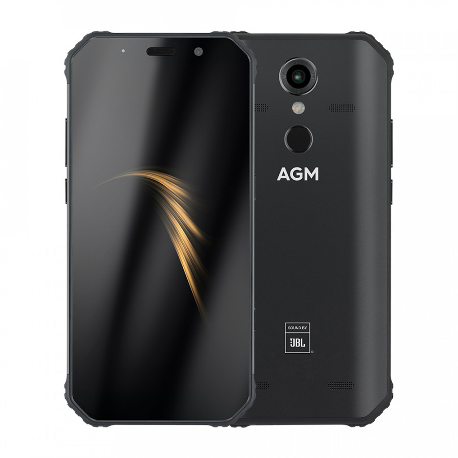 AGM A9 Rugged Mobile Phone IP68 Waterproof 4GB 32GB 5.99inch 18:9 FHD+ Snapdragon 450 Android 8.1 16MP+12MP Cameras