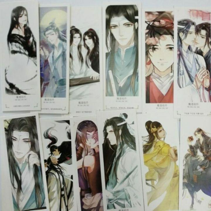 Bookmark Anime Ma đạo tổ sư hộp 36 tấm