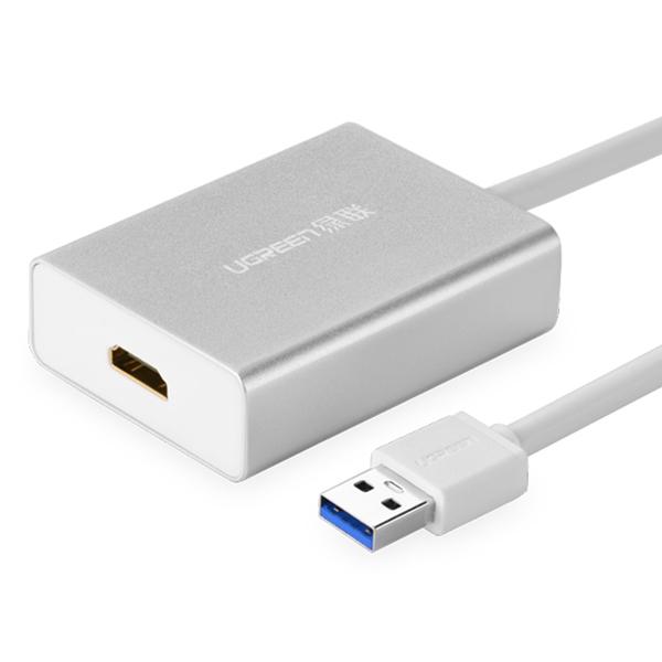 Cáp USB 3.0 To HDMI Ugreen 40229 - Hàng Chính Hãng - 5741975 , 9027672376807 , 62_16168965 , 1350000 , Cap-USB-3.0-To-HDMI-Ugreen-40229-Hang-Chinh-Hang-62_16168965 , tiki.vn , Cáp USB 3.0 To HDMI Ugreen 40229 - Hàng Chính Hãng