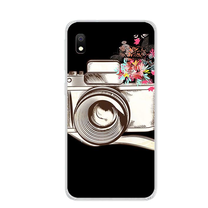 Ốp lưng dẻo cho điện thoại Samsung Galaxy A10 - 0078 CAMERA01 - Hàng Chính Hãng