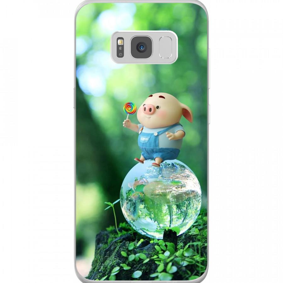 Ốp Lưng Cho Điện Thoại Samsung Galaxy S8 Plus - Mẫu aheocon 137