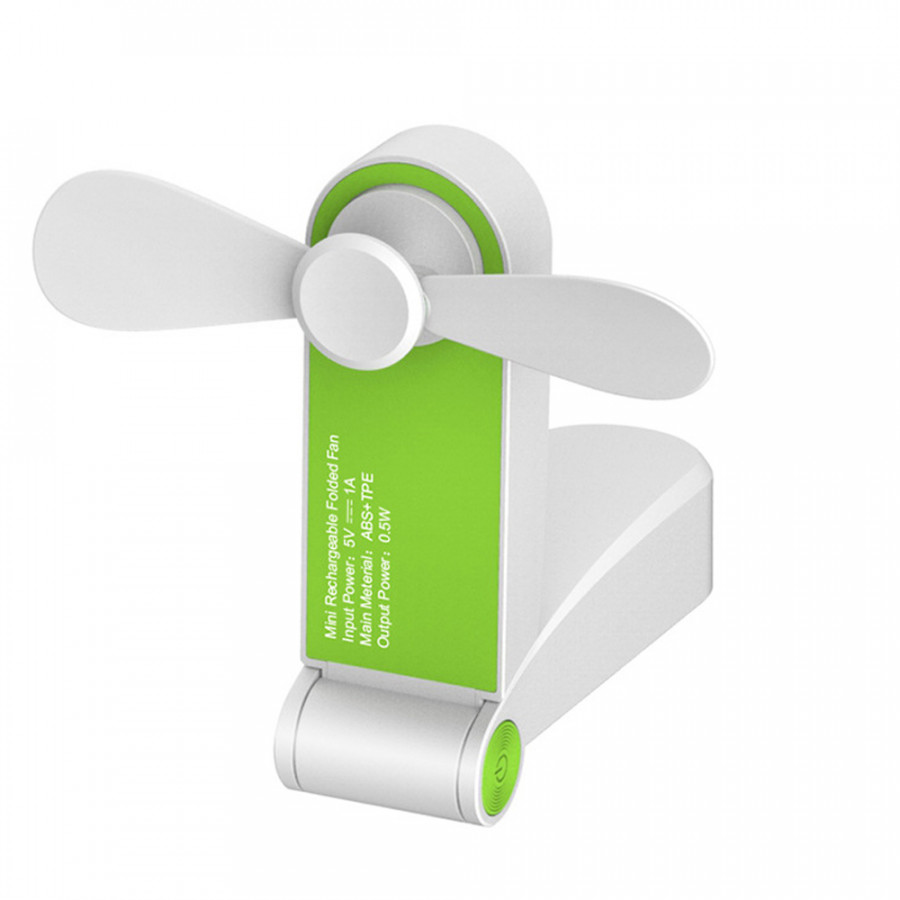 Handheld Personal Fan Pocket Fan Delicate Mini ABS+TPE Portable Travel