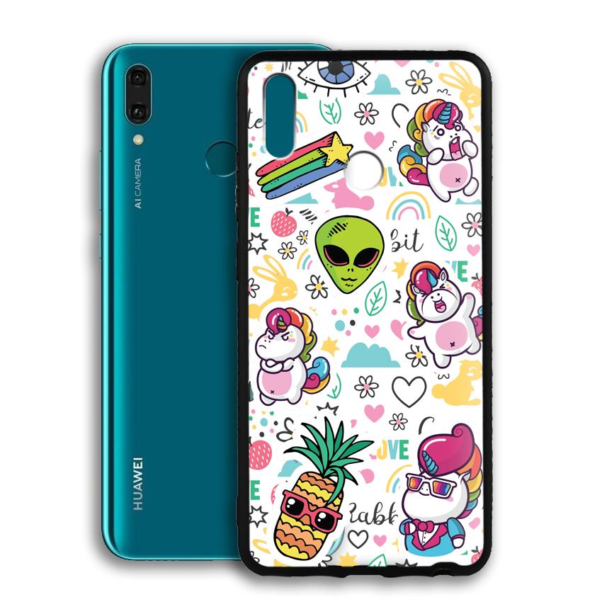 Ốp lưng viền TPU cho điện thoại Huawei Y9 2019 - 02092 0525 LOL03 - Hàng Chính Hãng