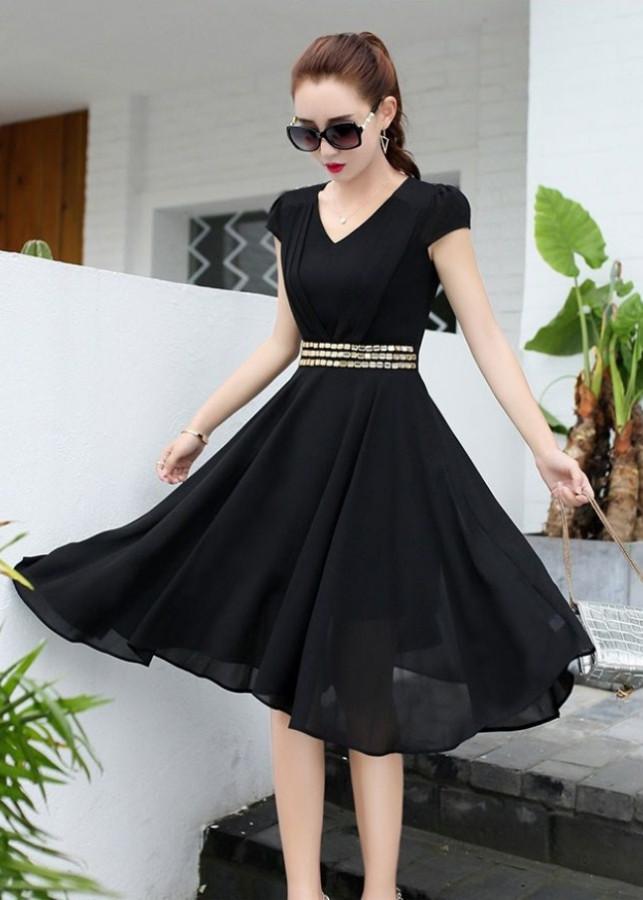 Đầm xòe dự tiệc sendy BY6071