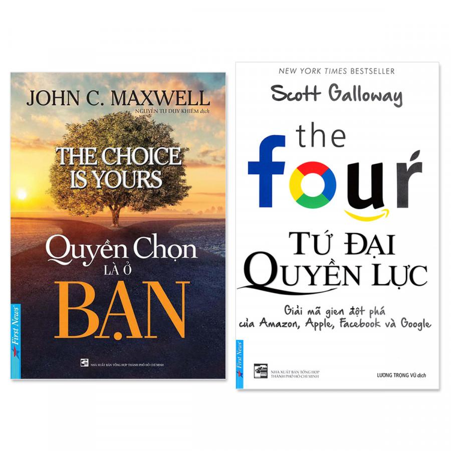 Combo 2 cuốn: Tứ Đại Quyền Lực, Quyền Chọn Là Ở Bạn - 1545682 , 2136609148817 , 62_10170276 , 302000 , Combo-2-cuon-Tu-Dai-Quyen-Luc-Quyen-Chon-La-O-Ban-62_10170276 , tiki.vn , Combo 2 cuốn: Tứ Đại Quyền Lực, Quyền Chọn Là Ở Bạn