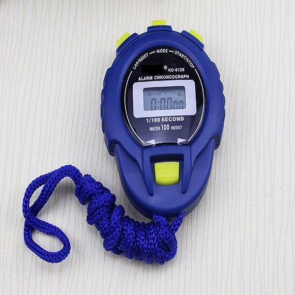 Đồng hồ bấm giờ điện tử đa chức năng chạy hẹn giờ KD-6128 ( có báo thức)
