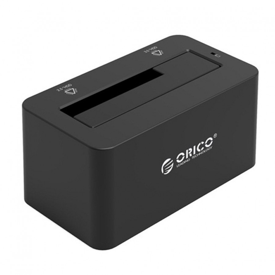 """Dock cắm ổ cứng (Đế cắm đứng) Orico 6619US3 cổng kết nối USB 3.0 dành cho cả 2 ổ cứng 2,5"""" và 3,5"""" SSD và HDD"""