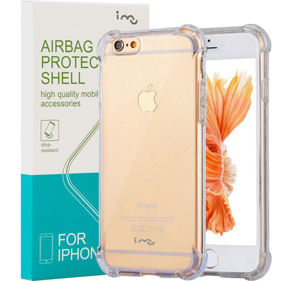 Ốp Lưng Nhựa Dẻo I-mu Dành Cho iPhone 6/6S - Trong Suốt