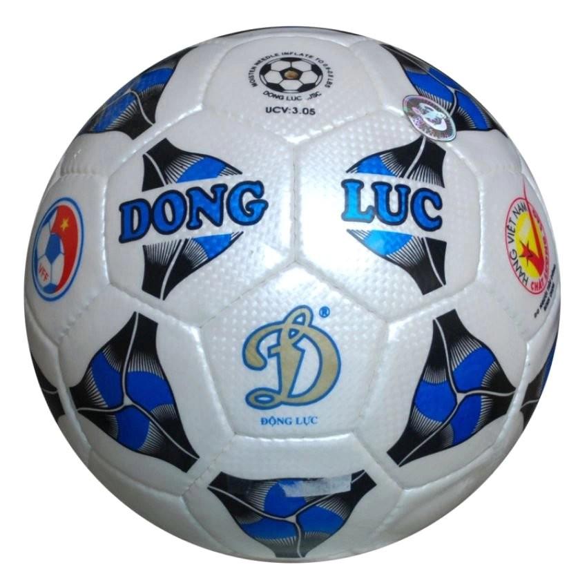 Quả bóng đá Động Lực Cơ bắp UCV 3.05 số 5 (Tiêu chuẩn thi đấu, Kèm kim bơm và lưới đựng bóng).