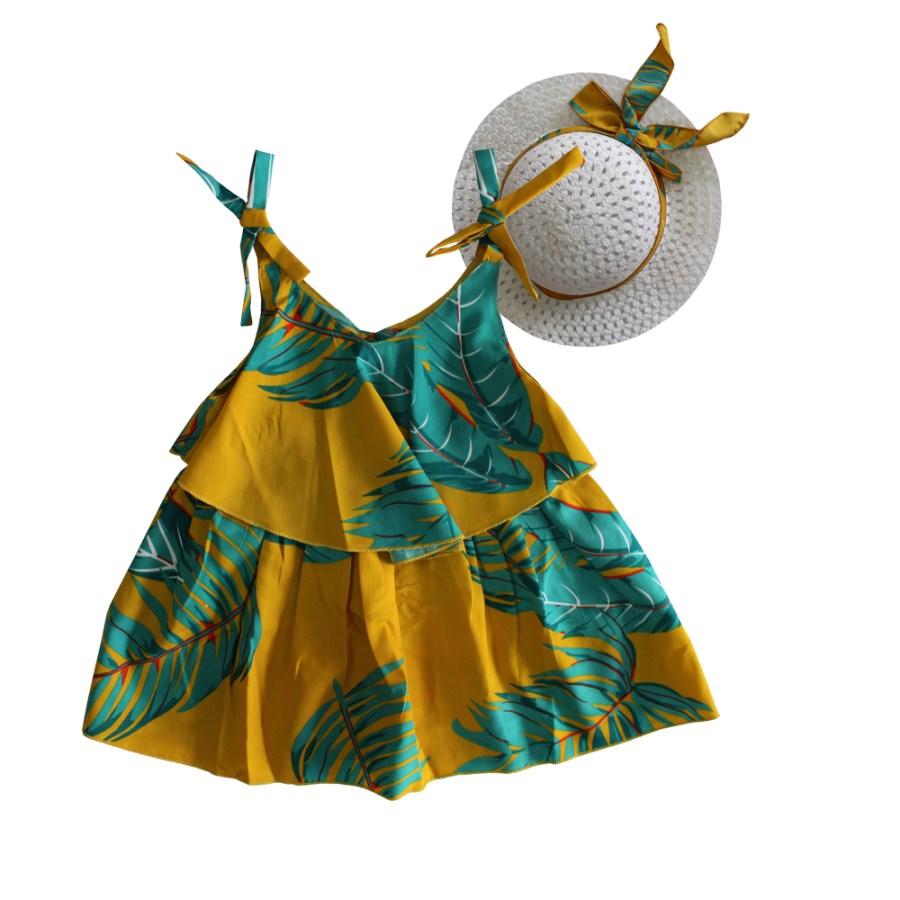 Set áo mùa hè cho bé tặng nón cối NK0000108