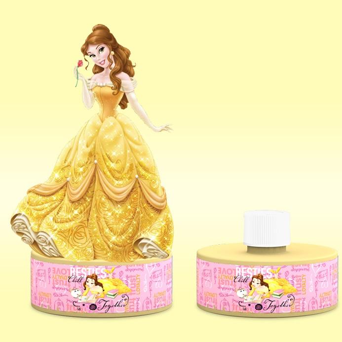 Sữa tắm bé gái mô hình 3D công chúa Disney Belle 300ml