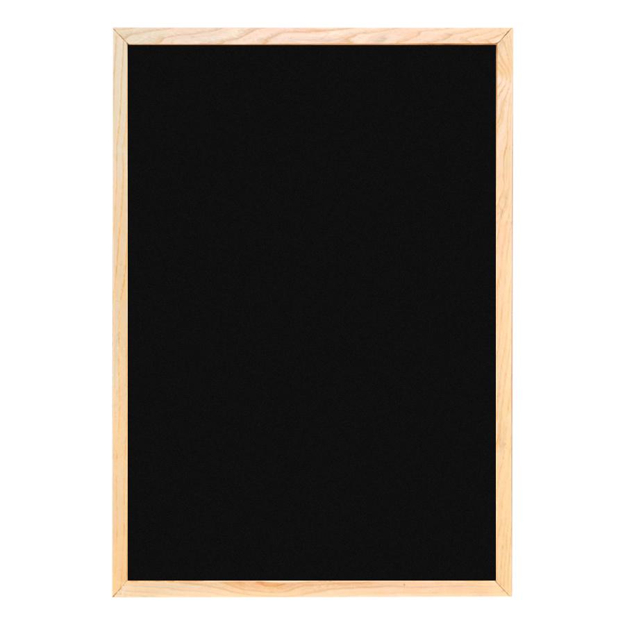 Bảng Menu Khung Gỗ (60 x 80 Cm) - Tặng Kèm Bút Dạ Quang, Hộp Phấn