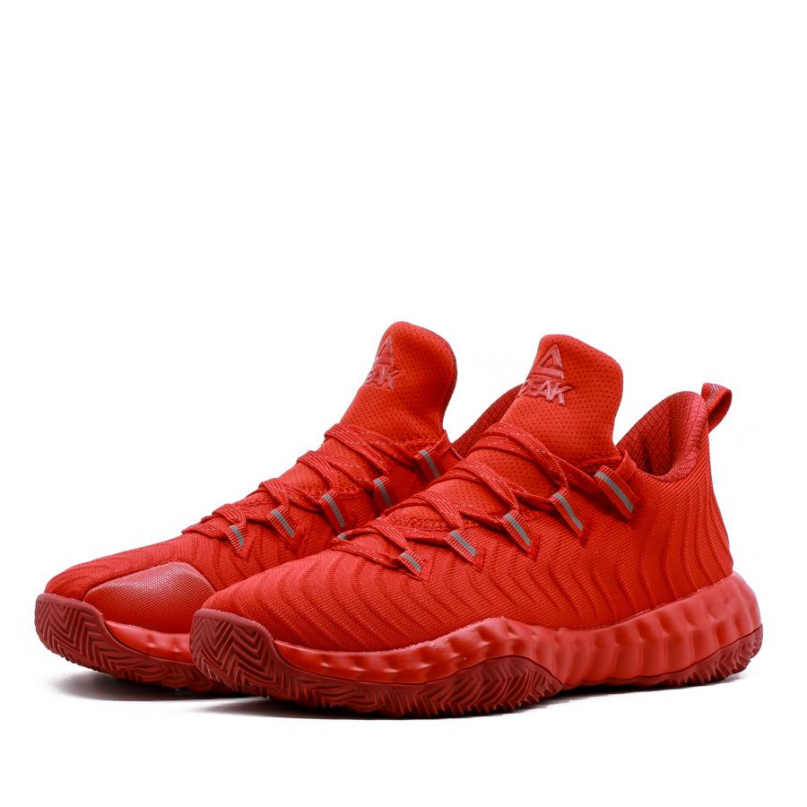 Giày bóng rổ PEAK Tony Parker 6 Outdoor E91011A - Đỏ