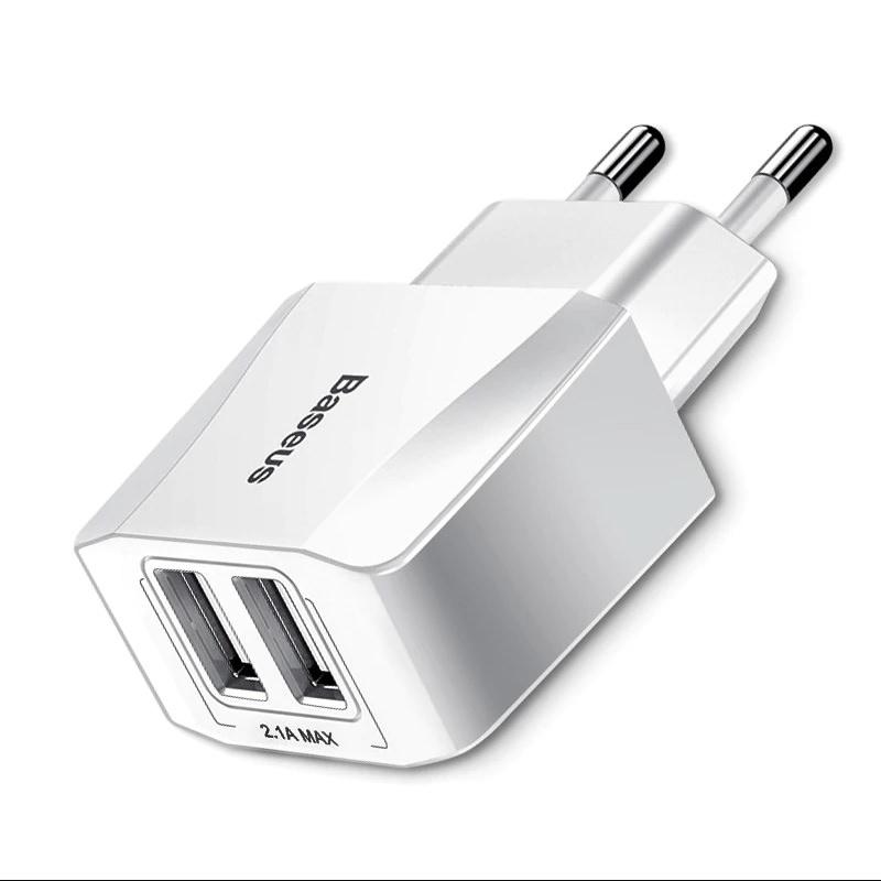 Củ sạc nhanh Baseus Mini Dual-Ucharger(EU) 2.1A