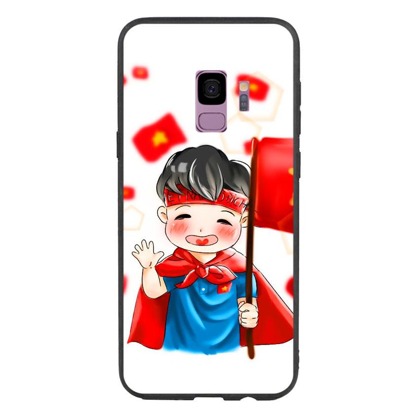 Ốp Lưng Viền TPU Cho Samsung Galaxy S9 - U23 Mẫu 6