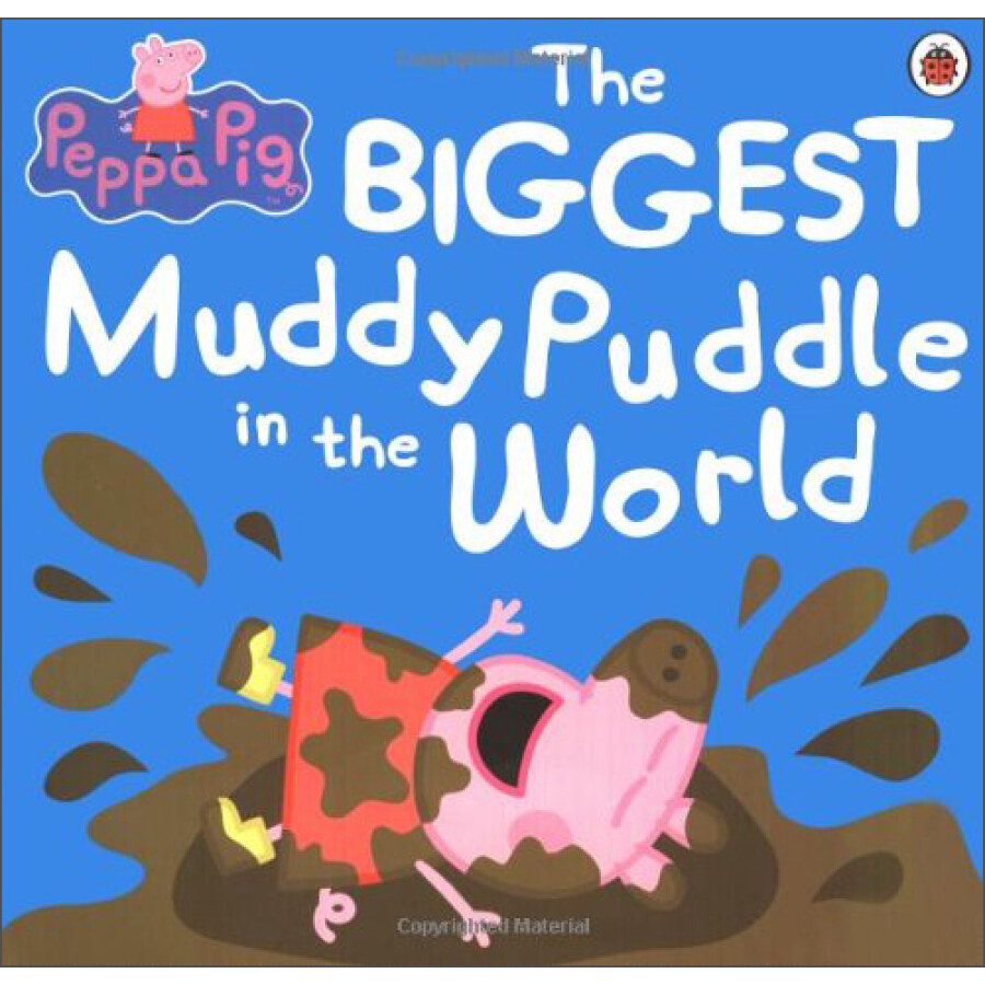 Peppa Pig: The Biggest Muddy Puddle in the World Picture Book - 1223932 , 5375173033861 , 62_5231147 , 160000 , Peppa-Pig-The-Biggest-Muddy-Puddle-in-the-World-Picture-Book-62_5231147 , tiki.vn , Peppa Pig: The Biggest Muddy Puddle in the World Picture Book