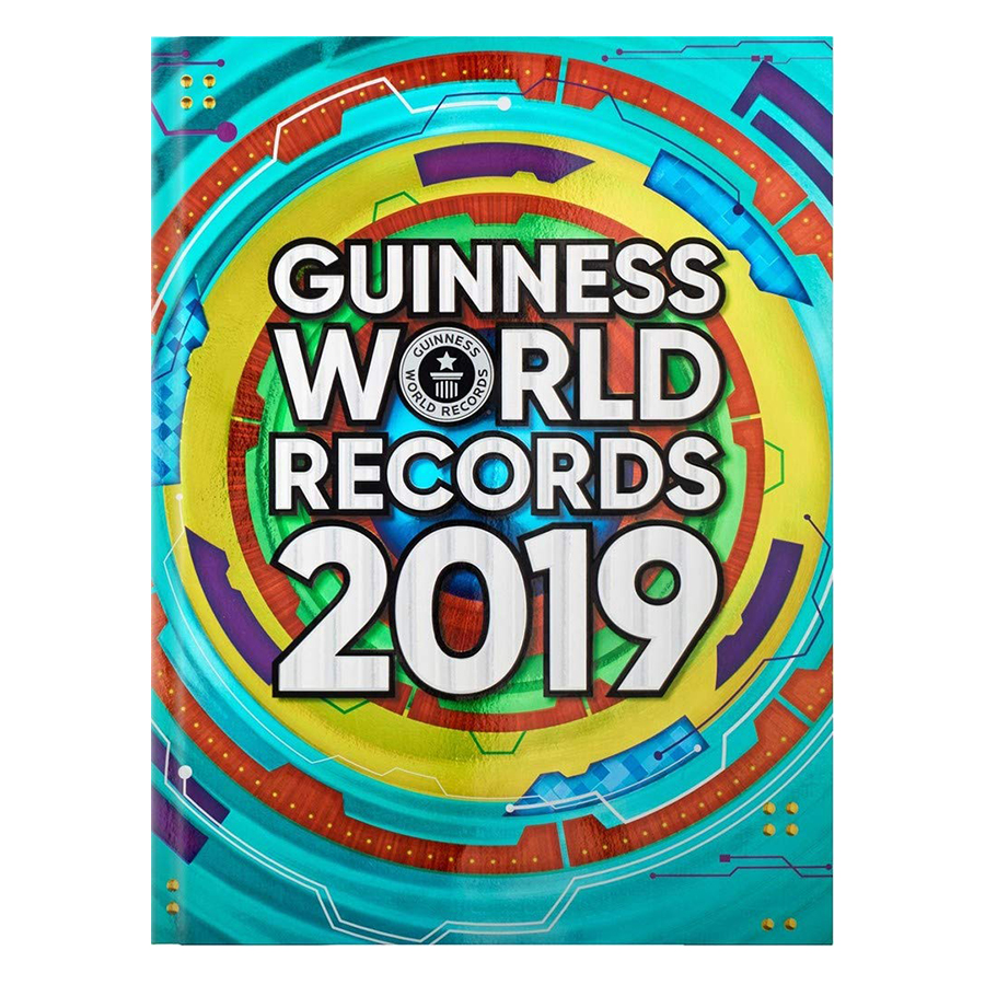 Guinness World Records 2019 - 773989 , 4210778823299 , 62_10756991 , 851000 , Guinness-World-Records-2019-62_10756991 , tiki.vn , Guinness World Records 2019
