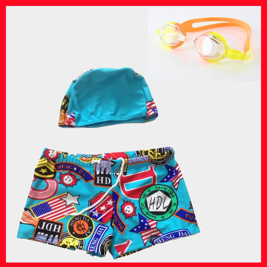 Combo Set Quần + Mũ Bơi Cho Bé Và Kính Bơi Trẻ Em BL-826 Chống Nước, Chống Tia UV + Tặng 2 Nút Bịt Tai (Màu Ngẫu...