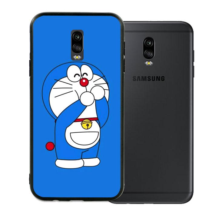Ốp lưng viền TPU cho Samsung Galaxy J7 Plus - Doremon 02