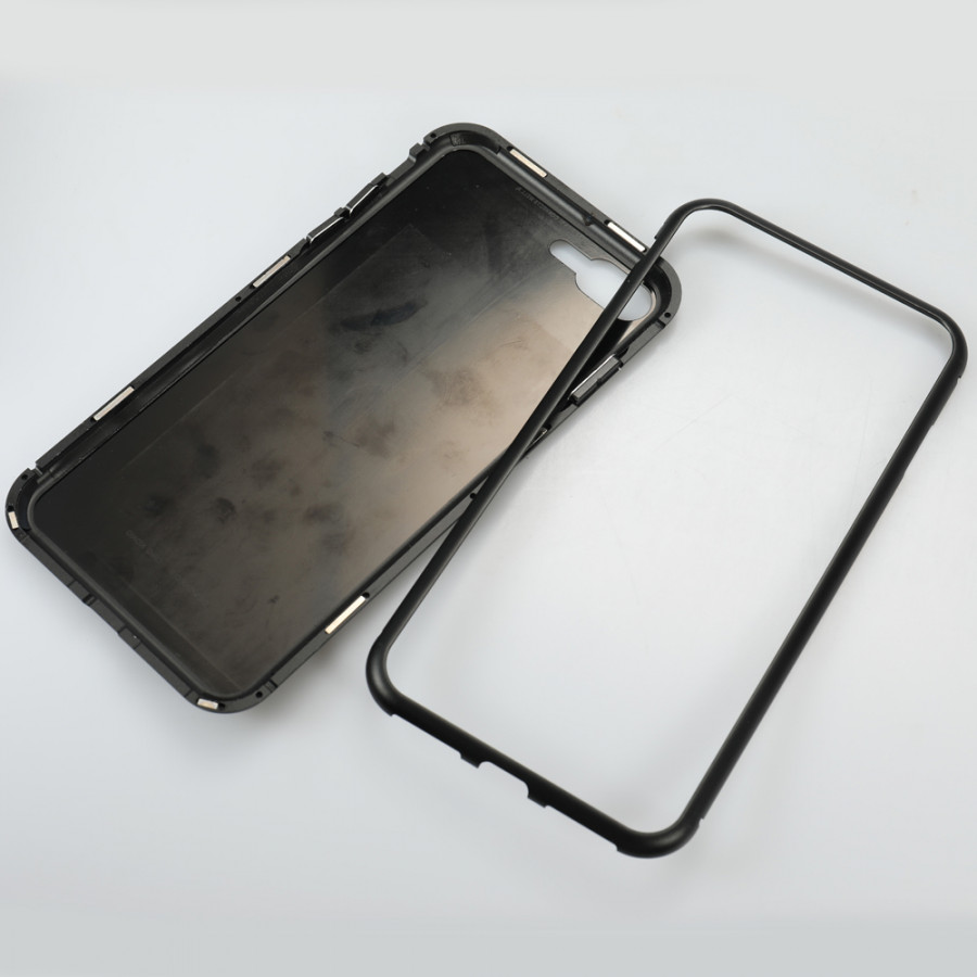 Metal-rimmed Mobile Phone Case Hardened Glass Magnetic Adsorption Protection Smartphone Cover Bumper Luxury Aluminum - 2289719 , 6191568263410 , 62_14704037 , 257000 , Metal-rimmed-Mobile-Phone-Case-Hardened-Glass-Magnetic-Adsorption-Protection-Smartphone-Cover-Bumper-Luxury-Aluminum-62_14704037 , tiki.vn , Metal-rimmed Mobile Phone Case Hardened Glass Magnetic Adsorption