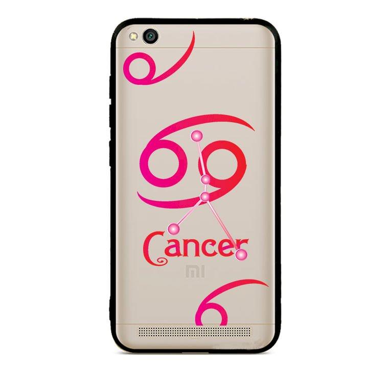 Ốp lưng cho điện thoại Xiaomi Redmi 5A viền TPU cung Cự Giải - Cancer