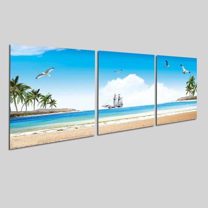Bộ tranh 3 tấm phong cảnh biển tuyệt đẹp - tranh gỗ treo tường - dạng hình vuông từng tấm - 2148323 , 5494701039165 , 62_13698695 , 1300000 , Bo-tranh-3-tam-phong-canh-bien-tuyet-dep-tranh-go-treo-tuong-dang-hinh-vuong-tung-tam-62_13698695 , tiki.vn , Bộ tranh 3 tấm phong cảnh biển tuyệt đẹp - tranh gỗ treo tường - dạng hình vuông từng tấm