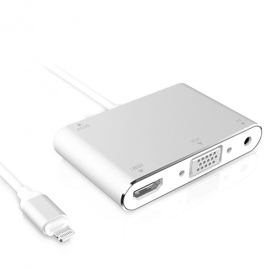 Adapter Chuyển Đổi 3 Trong 1 Cho iPhone Máy Tính Cổng HDMI/VGA/AV - 1734844 , 5674069805309 , 62_12150371 , 887000 , Adapter-Chuyen-Doi-3-Trong-1-Cho-iPhone-May-Tinh-Cong-HDMI-VGA-AV-62_12150371 , tiki.vn , Adapter Chuyển Đổi 3 Trong 1 Cho iPhone Máy Tính Cổng HDMI/VGA/AV