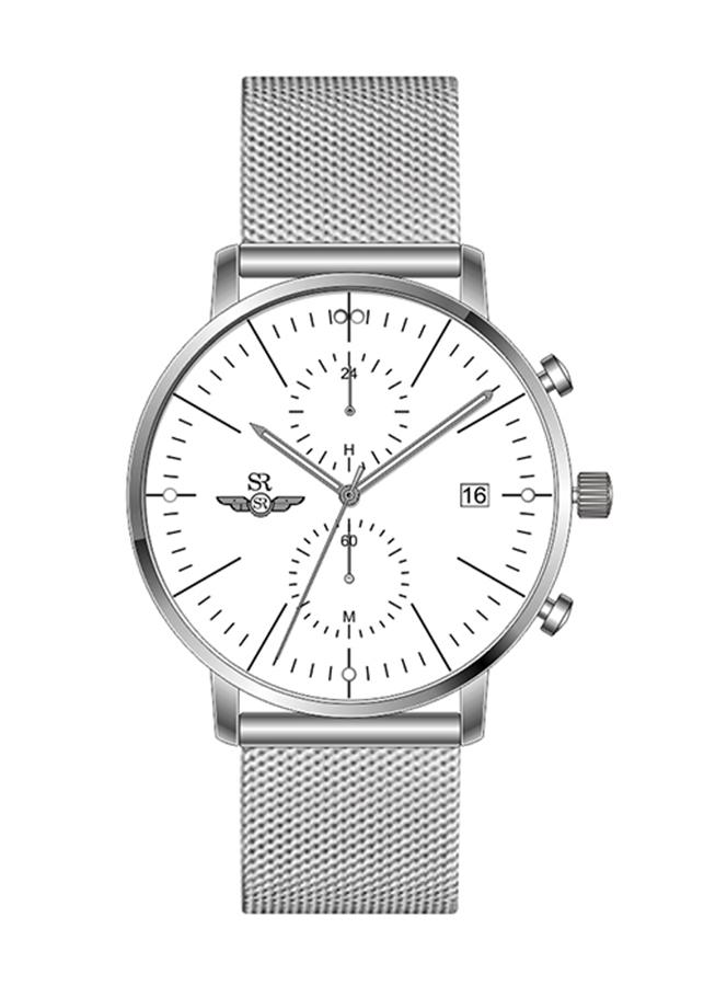 Đồng hồ Nam dây lưới kim loại  SG5541.1102