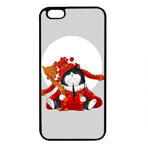 Ốp lưng dành cho điện thoại Iphone 6s Plus Mèo Hoàng Thượng