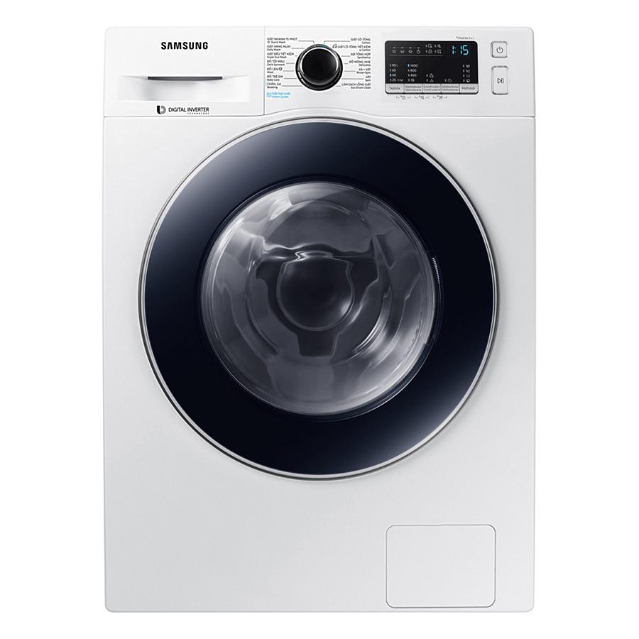 Máy Giặt Cửa Trước Samsung Inverter WW80J54E0BW/SV (8kg)