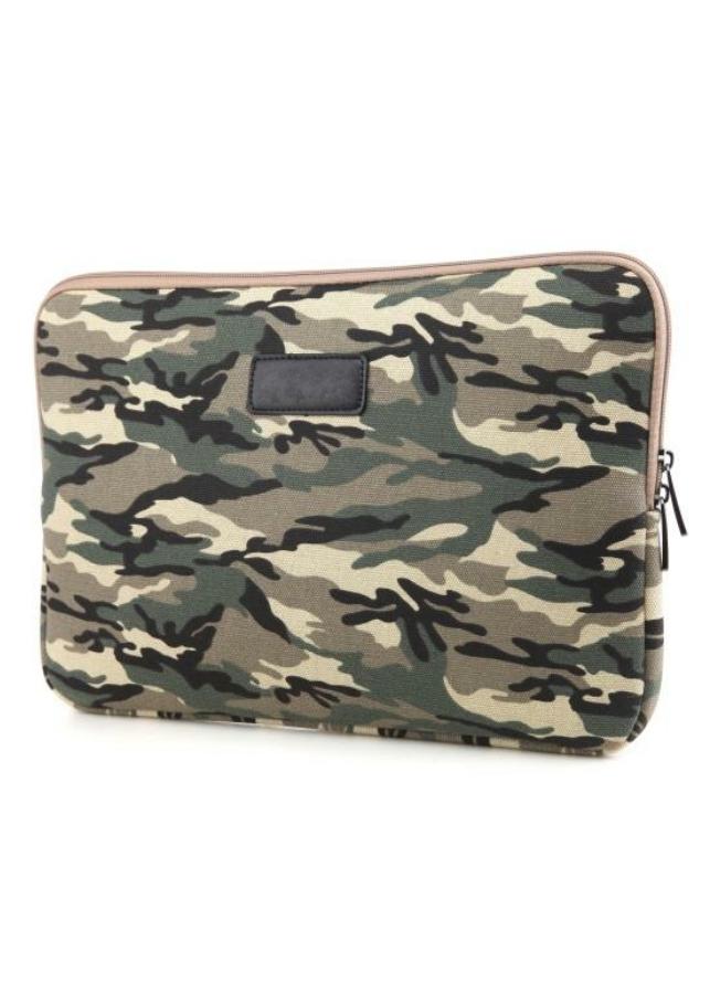 Túi chống sốc laptop, macbook hoạ tiết quân đội