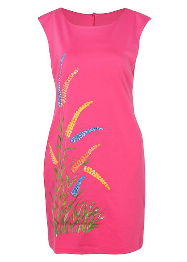 Đầm Kiểu Nữ An Thủy 610-M7 - Hồng Đậm