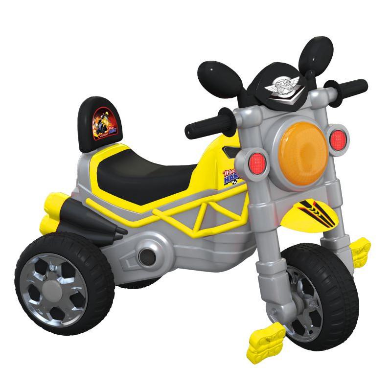 Xe 3B L12 Motor Bike V1 (Không nhạc) - M1744A-X3B - Giao màu ngẫu nhiên