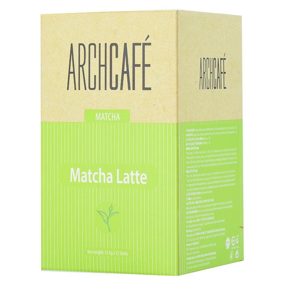 Matcha Sữa Archcafé (12 gói x 13.5g)