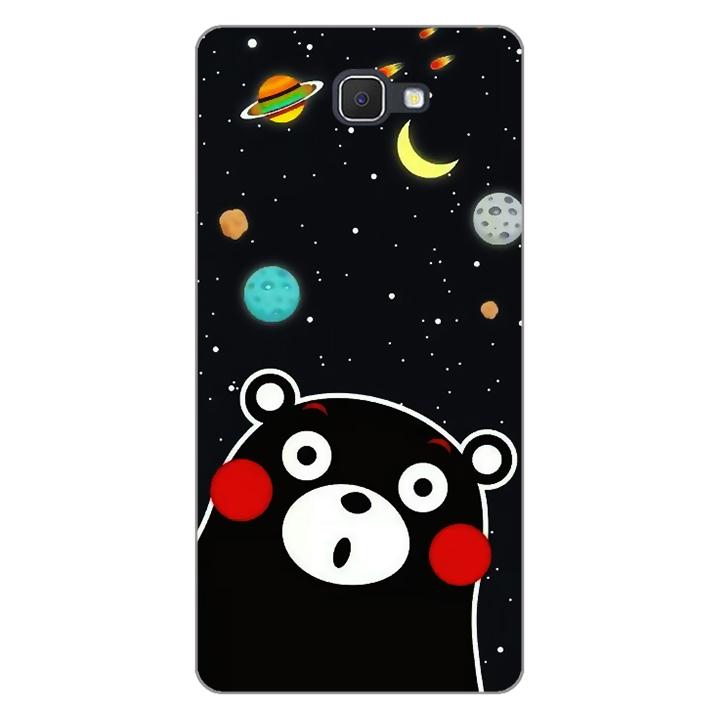Ốp lưng dẻo Nettacase cho điện thoại Samsung Galaxy J7 Prime _0345 BEAR03 - Hàng Chính Hãng